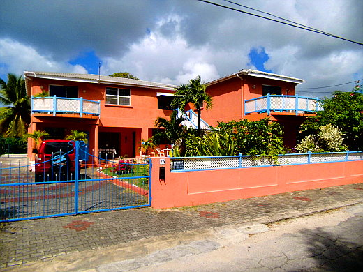Bajan Flamingo House