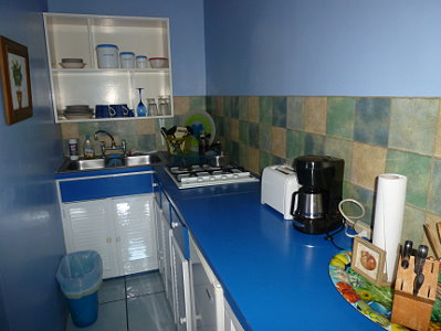 Bajan Flamingo House - Kitchenette Studio 1